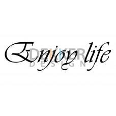 Enjoy life 5 X 24 CM