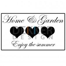 Home & Garden 17 X 30 CM