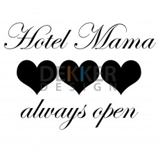 Hotel Mama 30 X 41 CM