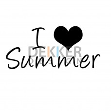 I (L) Summer 30 X 13 CM