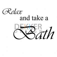 Relax and take a Bath 30 X 60 CM