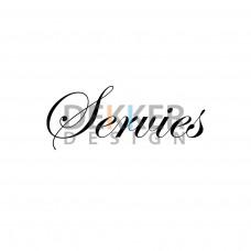 Servies 5 X 19 CM