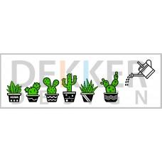 Tekstbord Cactus 20 X 60 CM