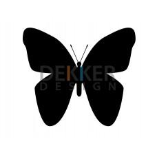 Vlinder 9 X 10 CM